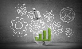 Conceito de inovações eficazes do mercado Imagem de Stock Royalty Free