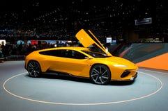 Conceito de Italdesign GTZero em Genebra 2016 Imagem de Stock Royalty Free
