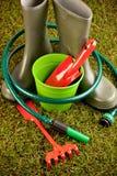 Conceito de jardinagem Imagens de Stock