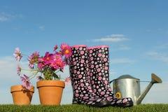 Conceito de jardinagem cinco Imagens de Stock