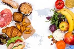 conceito de jejum da dieta do 5:2 fotografia de stock