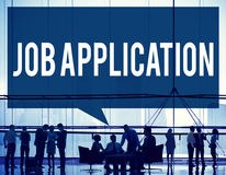 Conceito de Job Application Career Hiring Employment Fotografia de Stock Royalty Free