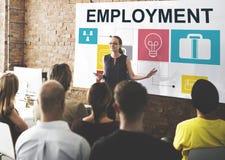 Conceito de Job Opportunites Motivation Employment Competence Imagem de Stock Royalty Free
