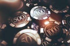 Conceito de jogo do casino Fotografia de Stock Royalty Free