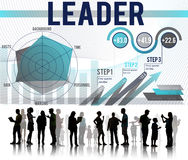 Conceito de Leadership Management Organization do líder Imagem de Stock Royalty Free