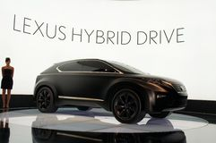 Conceito de Lexus LF-Xh Imagem de Stock