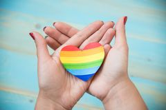 Conceito de LGBT Foto de Stock