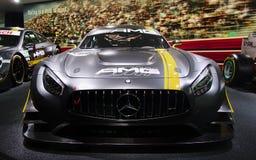 Conceito de Mercedes nos carros de IAA Fotos de Stock Royalty Free
