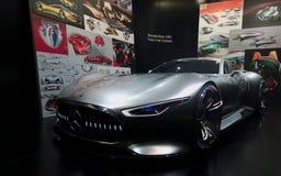 Conceito de Mercedes nos carros de IAA Foto de Stock Royalty Free