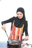 Conceito de Muslimah Fotografia de Stock