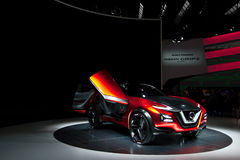 Conceito de Nissan Gripz nos carros de IAA Imagens de Stock Royalty Free