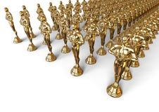 Conceito de Oscars Imagens de Stock Royalty Free