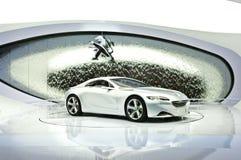 Conceito de Peugeot SR1 fotografia de stock royalty free