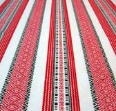 Conceito de projeto ucraniano do table-cloth, Ucrânia foto de stock royalty free