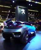 Conceito de quartzo de Peugeot nos carros de IAA Foto de Stock