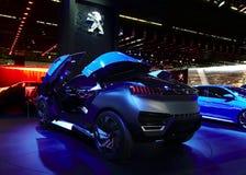 Conceito de quartzo de Peugeot nos carros de IAA Imagens de Stock