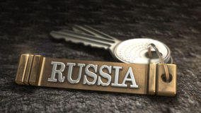 Conceito de Rússia Imagens de Stock