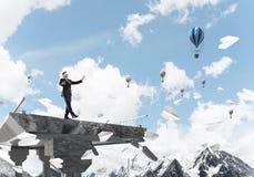 Conceito de riscos e de perigos escondidos Imagens de Stock