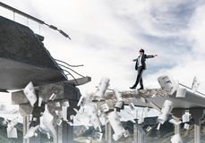 Conceito de riscos e de perigos escondidos Fotografia de Stock