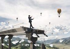 Conceito de riscos e de perigos escondidos Fotografia de Stock Royalty Free