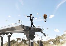 Conceito de riscos e de perigos escondidos Foto de Stock Royalty Free