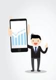 Conceito de Smartphone Imagem de Stock