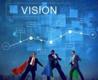Conceito de Strategy Analytics do projeto da visão do negócio imagem de stock royalty free