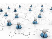 Conceito de teamworking Imagens de Stock