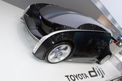 Conceito de Toyota Diji - mostra de motor 2012 de Genebra Imagem de Stock
