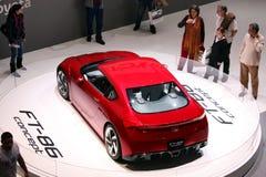 Conceito de Toyota FT-86 na mostra de motor 2010, Genebra Fotografia de Stock