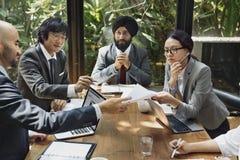 Conceito de trabalho dos povos incorporados do negócio Imagens de Stock Royalty Free