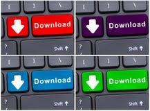 Conceito de transferência de dados do Internet Imagem de Stock Royalty Free