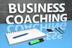 Conceito de treinamento do texto do negócio Imagem de Stock Royalty Free