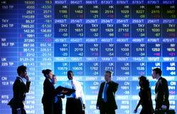 Conceito de troca da bolsa de valores do negócio fotos de stock