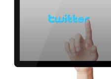 Conceito de Twitter ilustração do vetor