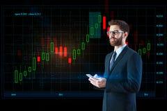 Conceito de uma comunicação e da tecnologia Imagem de Stock Royalty Free