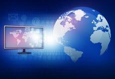 Conceito de uma comunicação global Imagens de Stock