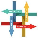 Conceito de uma comunicação - molde Foto de Stock Royalty Free