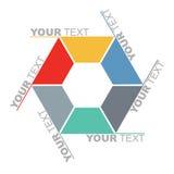Conceito de uma comunicação - molde Fotos de Stock Royalty Free