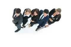Conceito de uma equipe profissional do negócio como a chave ao sucesso dentro fotografia de stock royalty free