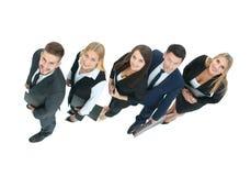 Conceito de uma equipe profissional do negócio como a chave ao sucesso dentro imagem de stock royalty free
