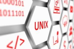 Conceito de Unix Imagens de Stock