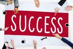 Conceito de vencimento da excelência da celebração da melhoria do sucesso imagem de stock royalty free