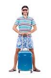 Conceito de viagem do turismo Imagens de Stock