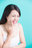 Conceito dental saudável Foto de Stock