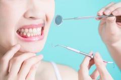 Conceito dental saudável Imagem de Stock