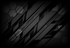 Conceito digital da textura do metal da tecnologia, backg do sumário do polígono ilustração royalty free
