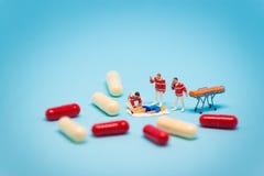 Conceito do abuso de drogas Imagem de Stock Royalty Free