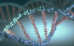 Conceito do ADN ilustração do vetor