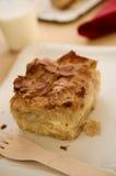 Conceito do alimento Burek da rua ou da torta do queijo fresco, iogurte Imagem de Stock